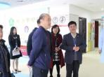 中国残联康复部主任胡向阳一行莅临四川省听力语言康复中心指导