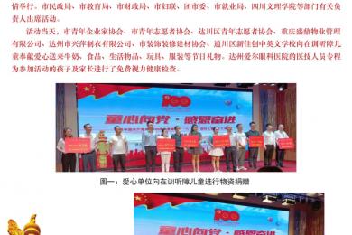 """市残联举办""""童心向党.感恩奋进""""庆祝中国共产党成立100周年暨第71个""""六· 一""""国际儿童节文艺演出活动"""